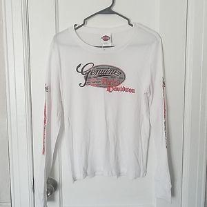 Harley Davidson NWOT longsleeved t-shirt